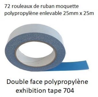 PROMO Double face polypropylène exhibition tape 704